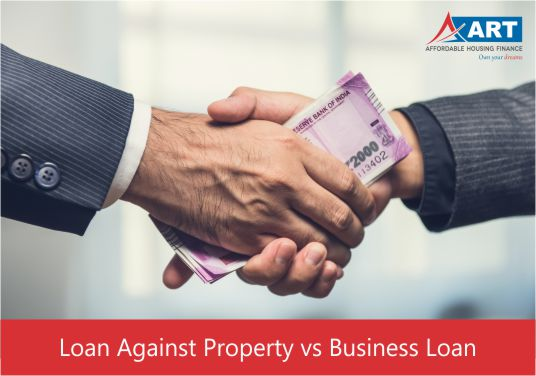 loan against property vs business loan