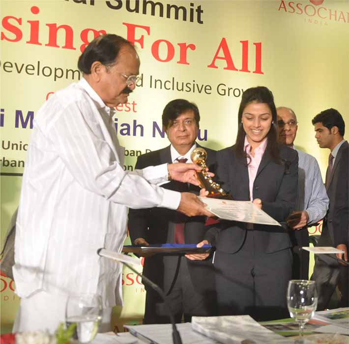 "ART Housing Finance conferred with ""Excellence in Customer Service"" by ASSOCHAM"